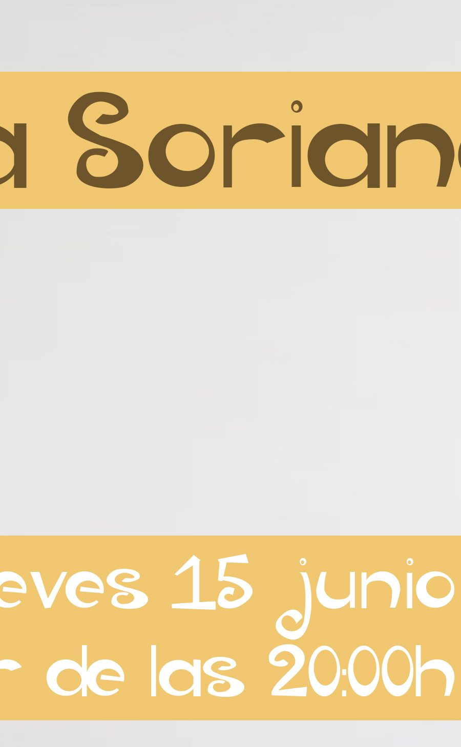 Banner Manuela Soriano